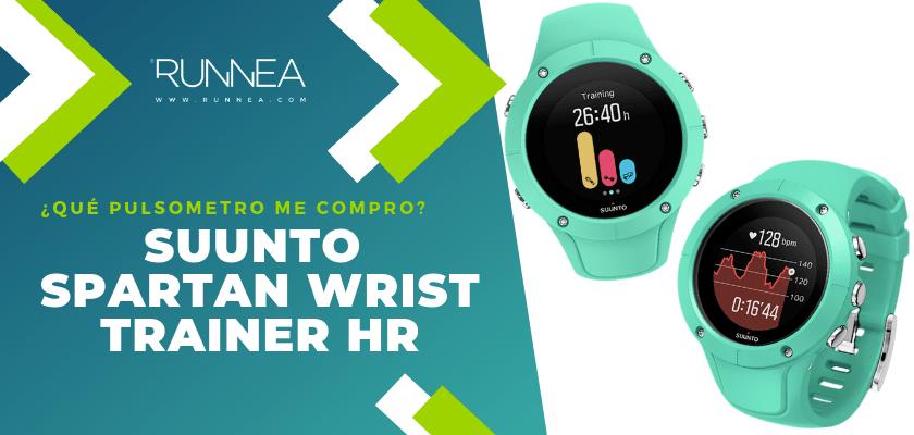 ¿Qué pulsometro me compro? - Suunto Spartan Wrist Trainer HR