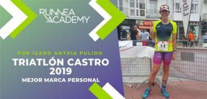 Crónica Triatlón Castro 2019: ¡Mejorando marca personal y sensaciones gracias a un plan de entrenamiento individualizado!