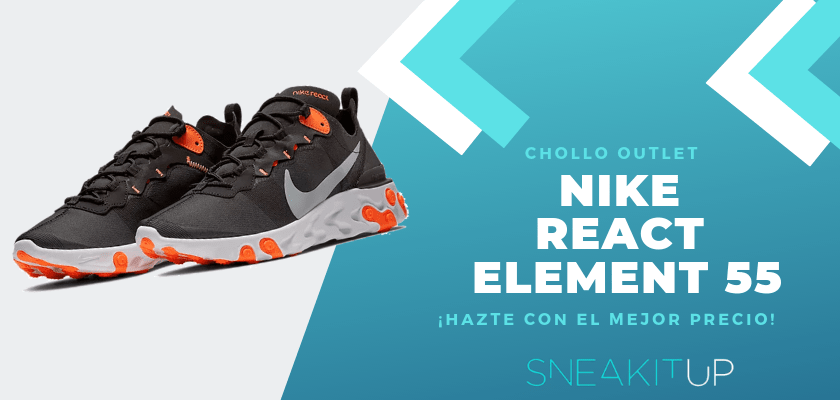 Los 12 chollos sneakers en la tienda de Nike - React Element 55
