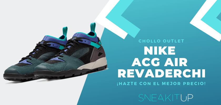 Los 12 chollos sneakers en la tienda de Nike - ACG Air Revaderchi