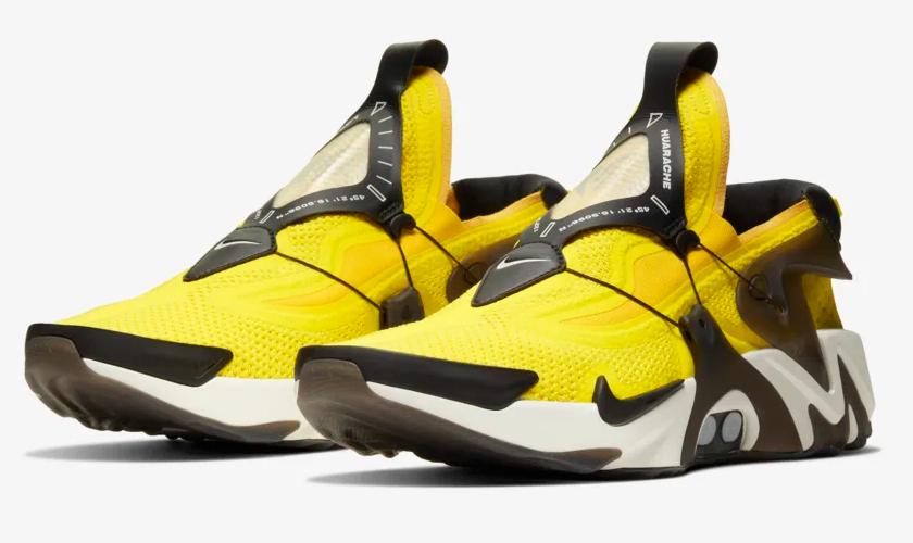 Nike Adapt Huarache botón que controla el ajuste