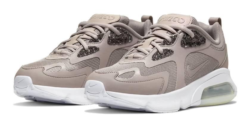 Lo nuevo de Nike: zapatillas brillantes Air Max 200