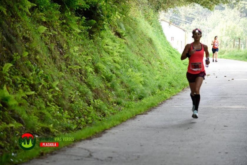 Así preparó Aitziber Martín su victoria en el Maratón Vías Verdes Plazaola