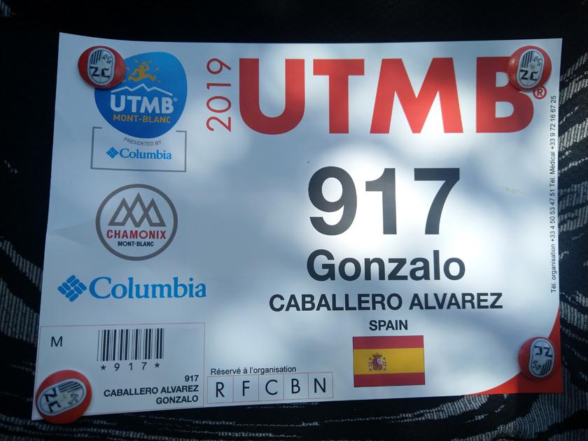 Dorsal personalizado de la UTMB 2019 - foto 14