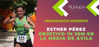 El plan de Esther Pérez para bajar de 1:30 en el Medio Maratón de Ávila