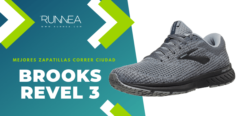 Las 10 mejores zapatillas para correr por la ciudad, Brooks Revel 3