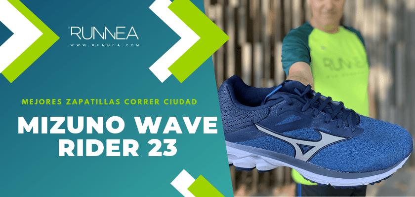 Las 10 mejores zapatillas para correr por la ciudad, Mizuno Wave Rider 23