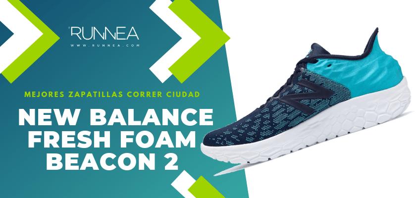 Las 10 mejores zapatillas para correr por la ciudad, New Balance Fresh Foam Beacon v2