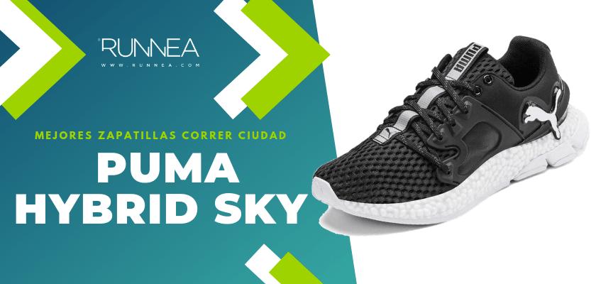 Las 10 mejores zapatillas para correr por la ciudad, Puma Hybrid Sky