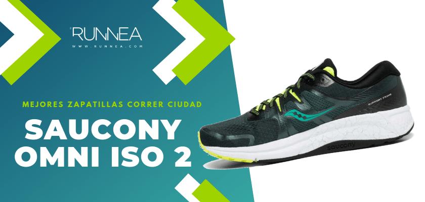 Las 10 mejores zapatillas para correr por la ciudad, Saucony Omni ISO 2