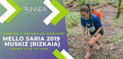 Carrera Mello Saria 2019, todas las novedades del evento montañero de Muskiz en Bizkaia