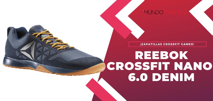 Las mejores zapatillas Reebok CrossFit Games - Reebok CrossFit Nano 6.0 Denim