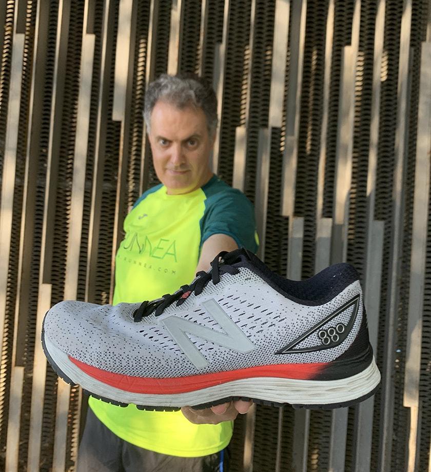 Análisis de las zapatillas de running New Balance 880 v9 ...