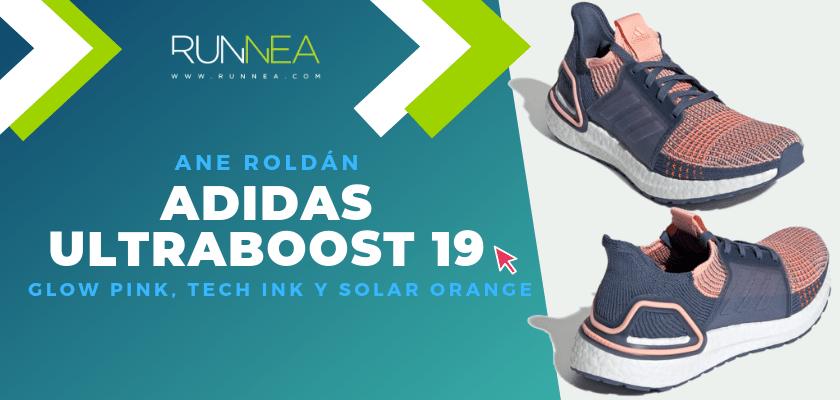 Los colores favoritos de la adidas Ultraboost 19 del equipo de Runnea - Ane Roldán