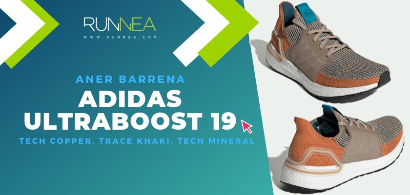 Los colores favoritos de la adidas Ultraboost 19 del equipo de Runnea - Aner Barrena