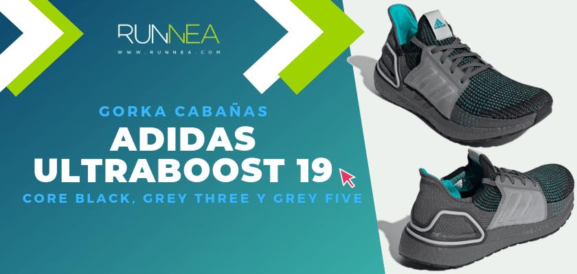 Los colores favoritos de la adidas Ultraboost 19 del equipo de Runnea - Gorka Cabañas