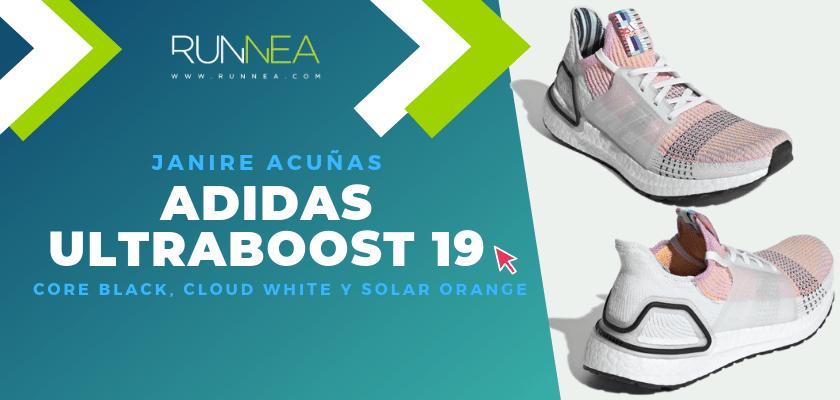 Los colores favoritos de la adidas Ultraboost 19 del equipo de Runnea - Janire Acuñas