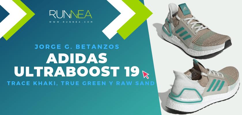 Los colores favoritos de la adidas Ultraboost 19 del equipo de Runnea - Jorge García Betanzos