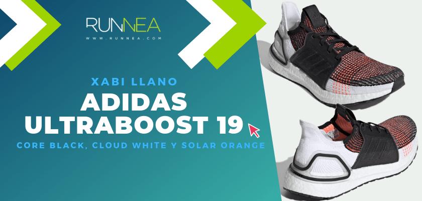 Los colores favoritos de la adidas Ultraboost 19 del equipo de Runnea - Xabi Llano