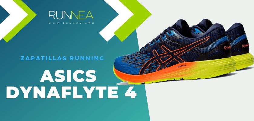 Zapatillas de running ASICS adaptadas a tu objetivo de carrera - ASICS Dynaflyte 4