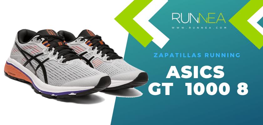 Zapatillas de running ASICS adaptadas a tu objetivo de carrera - ASICS GT 1000 8