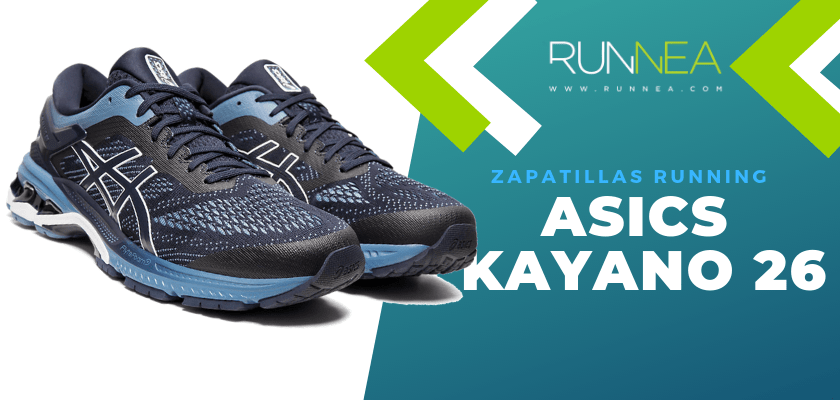 Zapatillas de running ASICS adaptadas a tu objetivo de carrera - ASICS Kayano 26