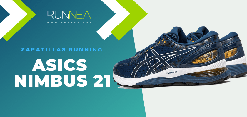 Zapatillas de running ASICS adaptadas a tu objetivo de carrera - ASICS Nimbus 21