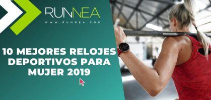 Los 10 mejores relojes deportivos para mujer 2019