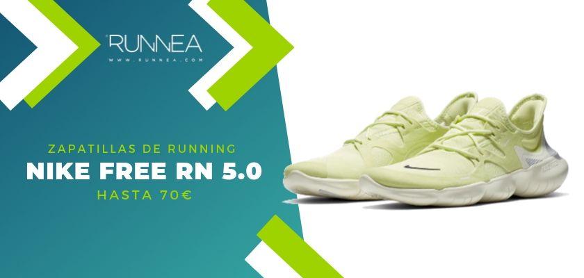 15 zapatillas running de Nike más destacadas por rango de precio, Nike Free RN 5.0