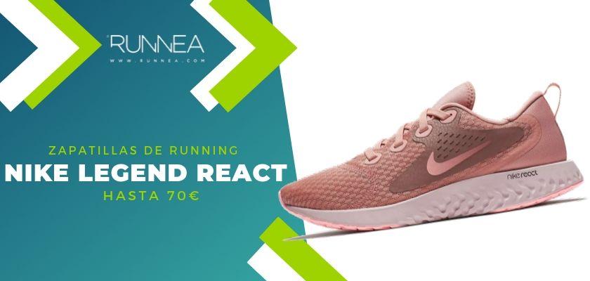 15 zapatillas running de Nike más destacadas por rango de precio, Nike Legend React