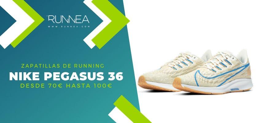 Las 15 zapatillas running de Nike más destacadas por rango de precio, Nike Pegasus 36