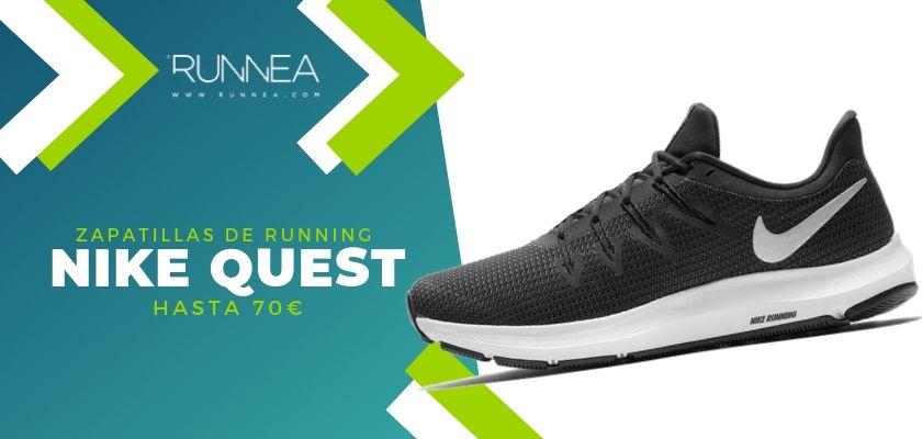 15 zapatillas running de Nike más destacadas por rango de precio, Nike Quest