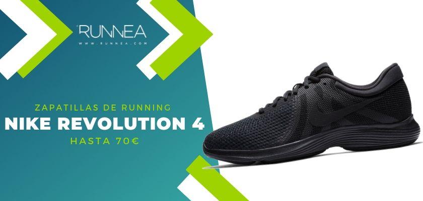 15 zapatillas running de Nike más destacadas por rango de precio, Nike Revolution 4