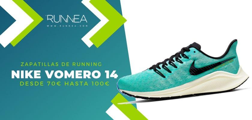 Las 15 zapatillas running de Nike más destacadas por rango de precio, Nike Vomero 14