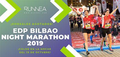 EDP Bilbao Night Marathon 2019, fiesta running asegurada en la noche mágica del 19 de octubre
