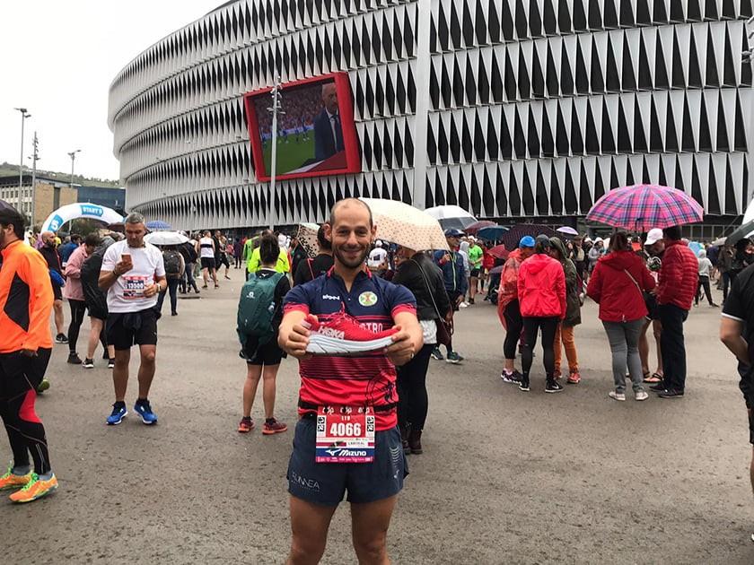 Hoka One One Rincon, compitiendo en la 21k de la EDP Bilbao Night Marathon 2019 - foto 8