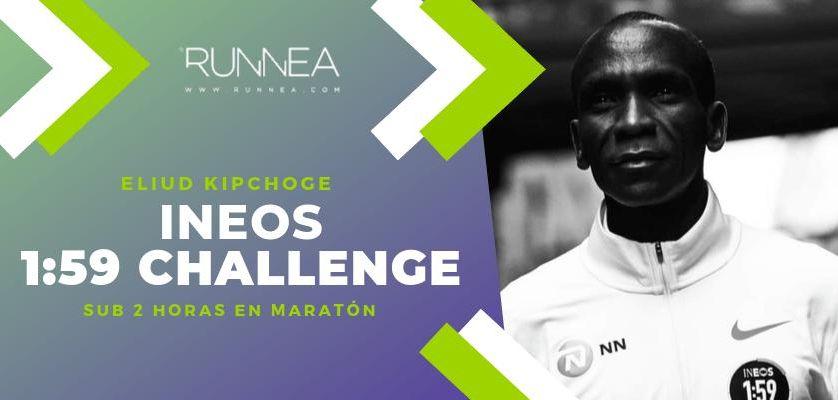 Las zapatillas de Eliud Kipchoge con las que corrió en menos de 2 horas una maratón