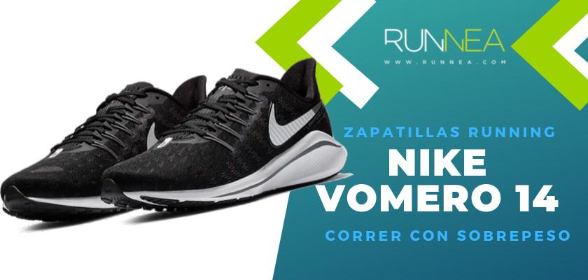 Mejores zapatillas para empezar a correr con sobrepeso 2019 - Nike Vomero 14