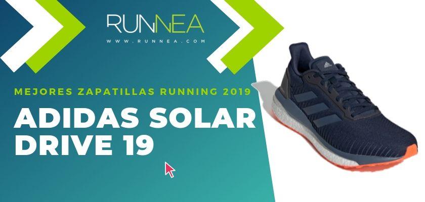 Las mejores zapatillas running 2019, Adidas Solar Drive 19
