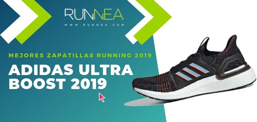 Las mejores zapatillas running 2019, Adidas Ultra Boost 19