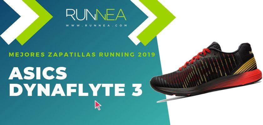 Las mejores zapatillas running 2019, ASICS Dynaflyte 3