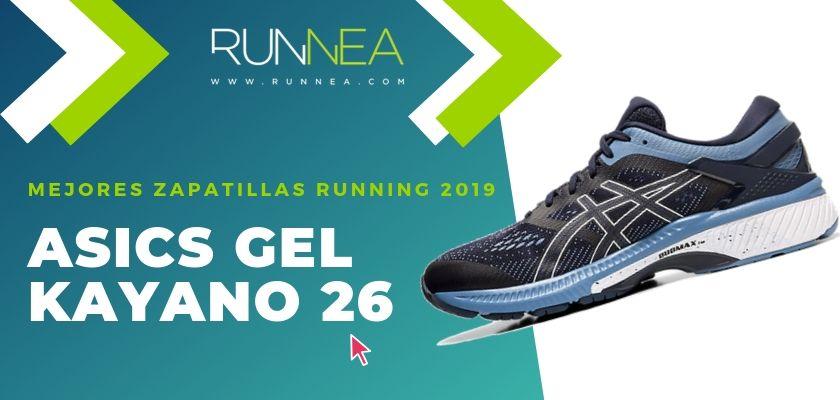Las mejores zapatillas running 2019, ASICS Gel Kayano 26