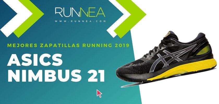 Las mejores zapatillas running 2019, ASICS Nimbus 21