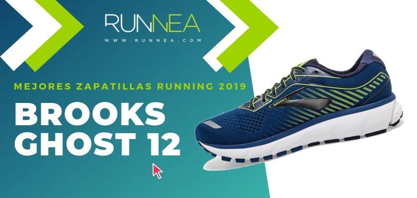 Las mejores zapatillas running 2019, Brooks Ghost 12