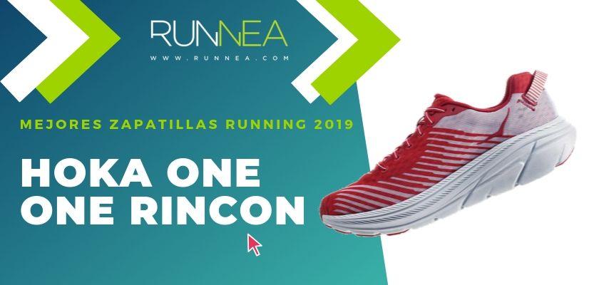 Las mejores zapatillas running 2019, Hoka One One Rincon