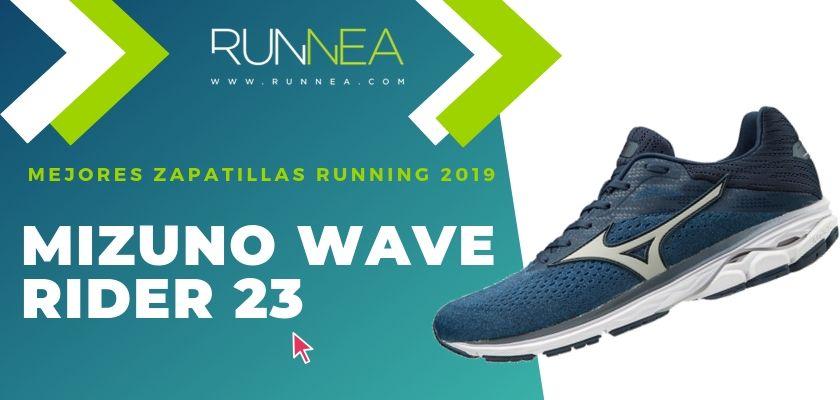 Las mejores zapatillas running 2019, Mizuno Wave Rider 23