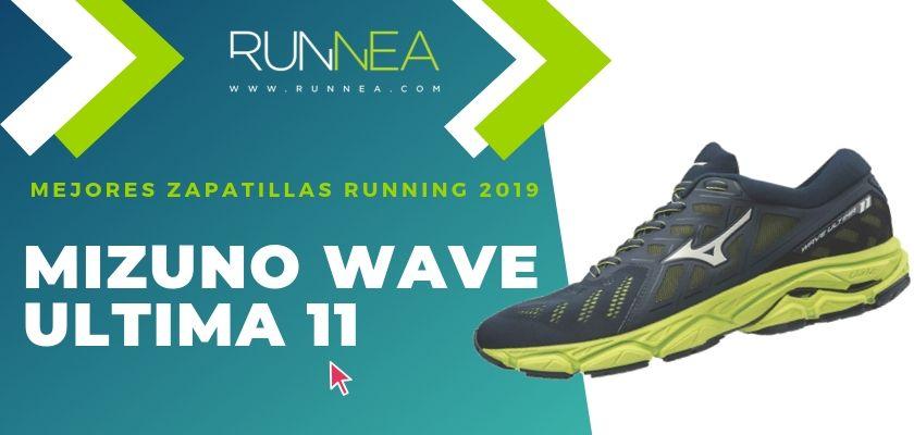 Las mejores zapatillas running 2019, Mizuno Wave Ultima 11