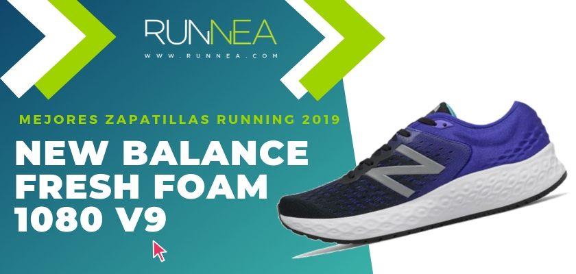 Las mejores zapatillas running 2019, New Balance Fresh Foam 1080 v9