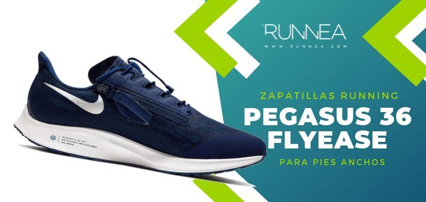 Las 4 zapatillas de running de Nike, Nike Pegasus 36 FlyEase