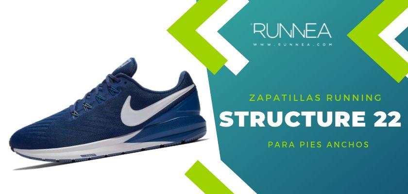 Las 4 zapatillas de running de Nike, Nike Air Zoom Structure 22
